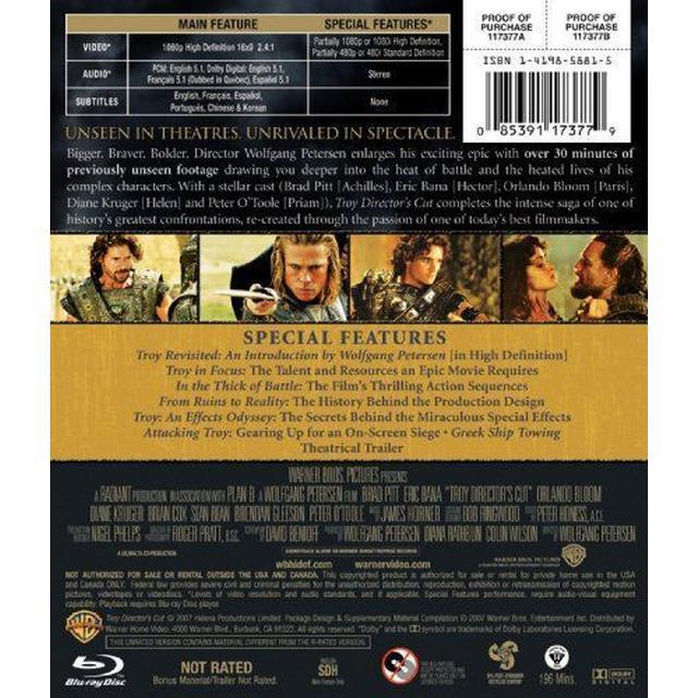 Troy [Blu-ray] [2004] [US Import]